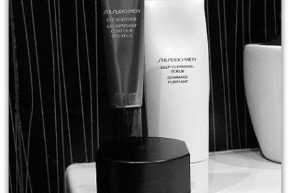 Shiseido man skincare
