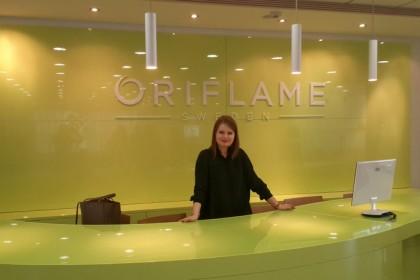 Знакомство с командой Oriflame
