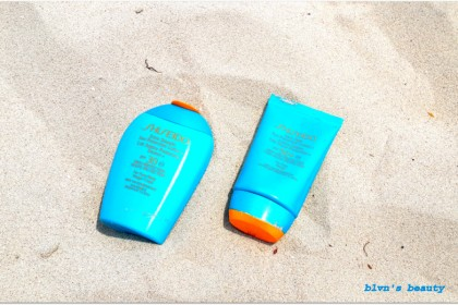 Shiseido Sun Protection for face and body