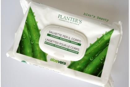 Planters увлажняющие салфетки с Aloe Vera