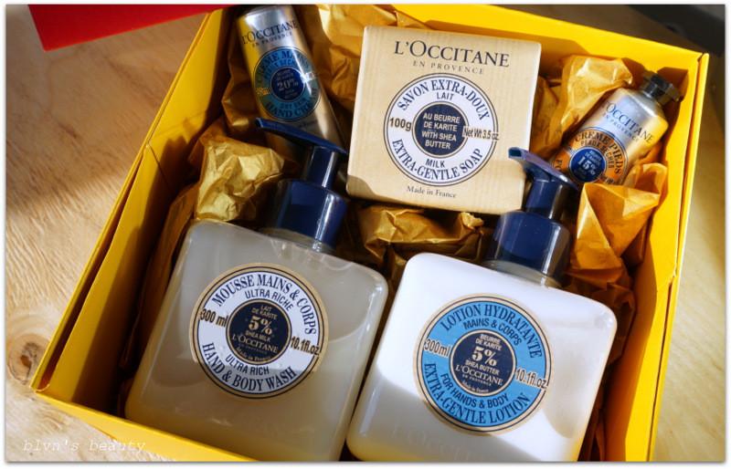 L'occitane Carite: мыло, гель, лосьон, кремы для рук и ног