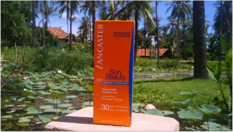 Lancaster Velvet Tanning Milk Sun Beauty SPF 30
