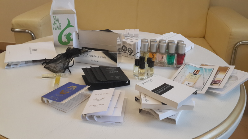 12 выставка Pitti Fragranze, тест-сессия ароматов в Le Flacon