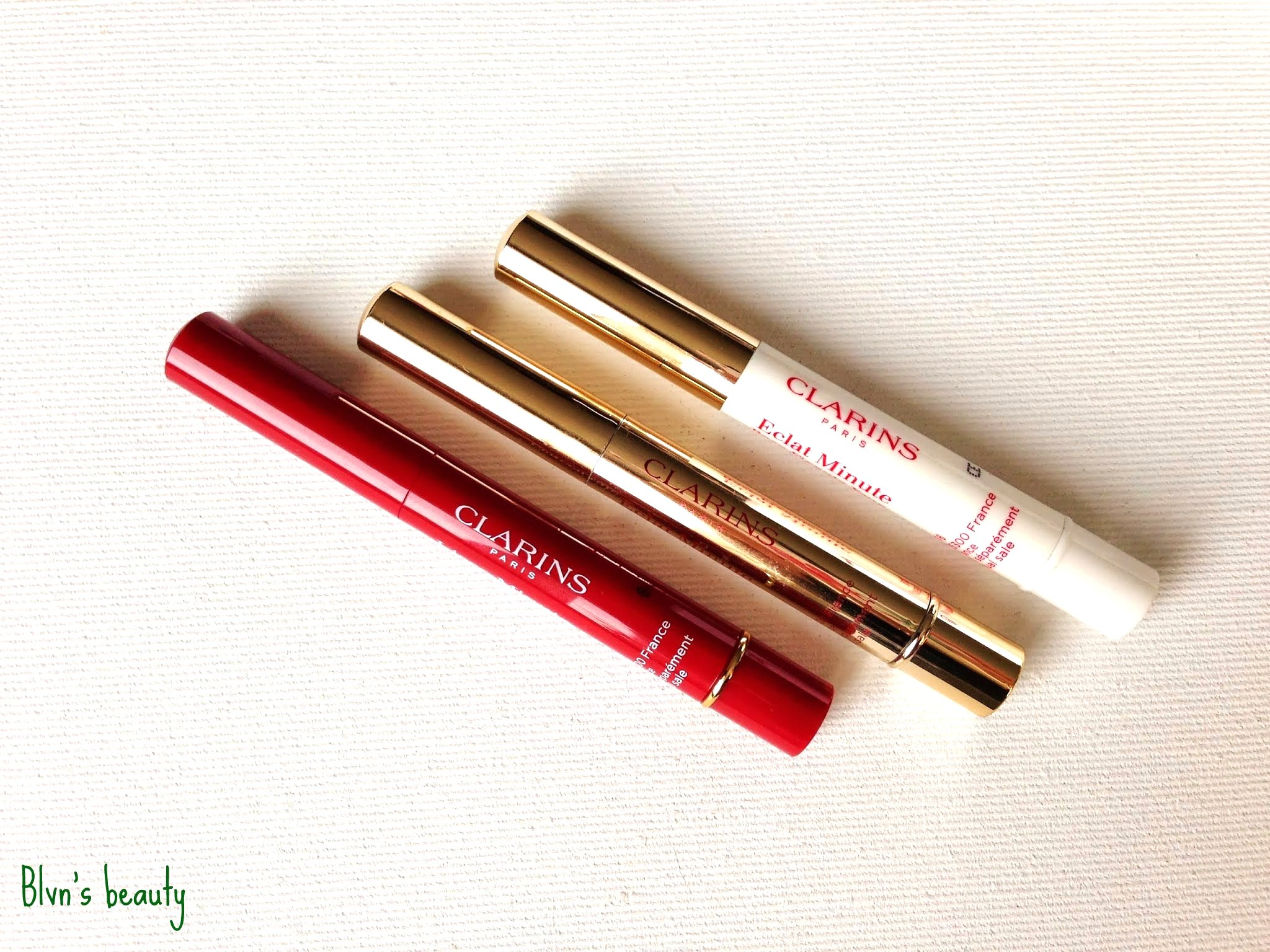 Clarins: Line Correcting Concentrate / Brush-On Perfector / Eye Perfecting Base