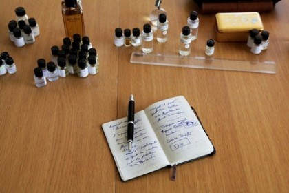 Perfume notes in Instagram BLVN84