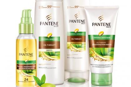 """Pantene Pro-V серия """"Слияние с природой Oil Therapy"""""""