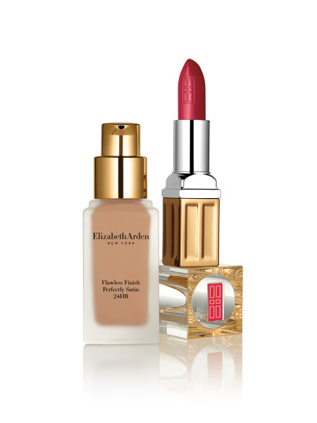 Elizabeth Arden Beautiful Color Moisturizing Lipstick Matte and Flawless Finish Perfectly Satin 24HR Makeup SPF15 - preview