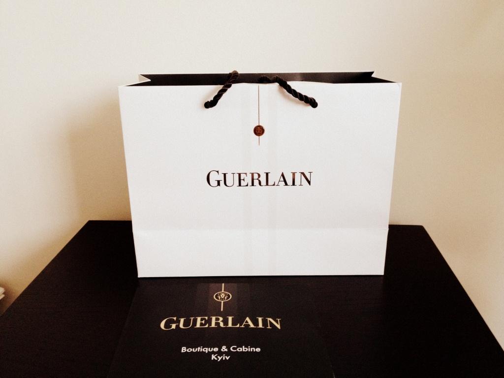Визит в бутик Guerlain