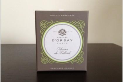 Аромасвеча D'orsay Fleurs de Tilleul