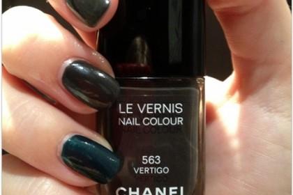 Chanel 563 vertigo and YSL wintergreen