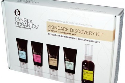 SPA выходные с Pangea Organics, Skincare Discovery Kit