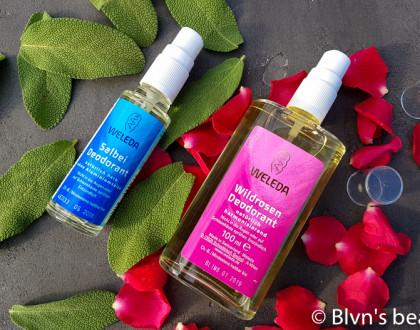 Weleda органические дезодоранты: с розой и с шалфеем