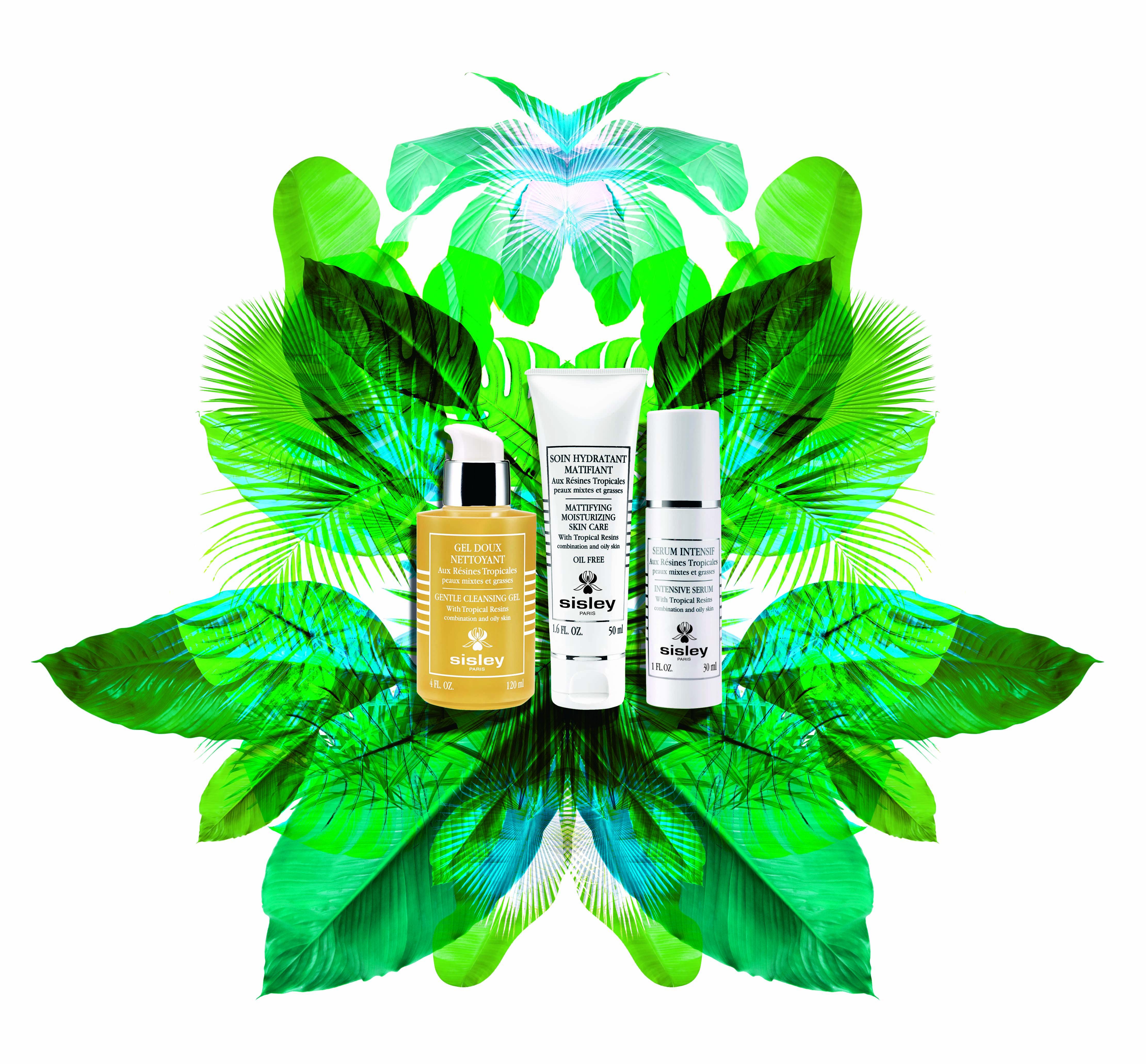 Новинки Sisley Resines Tropicales: гель для умывания, сыворотка и матирующий крем с тропическими смолами