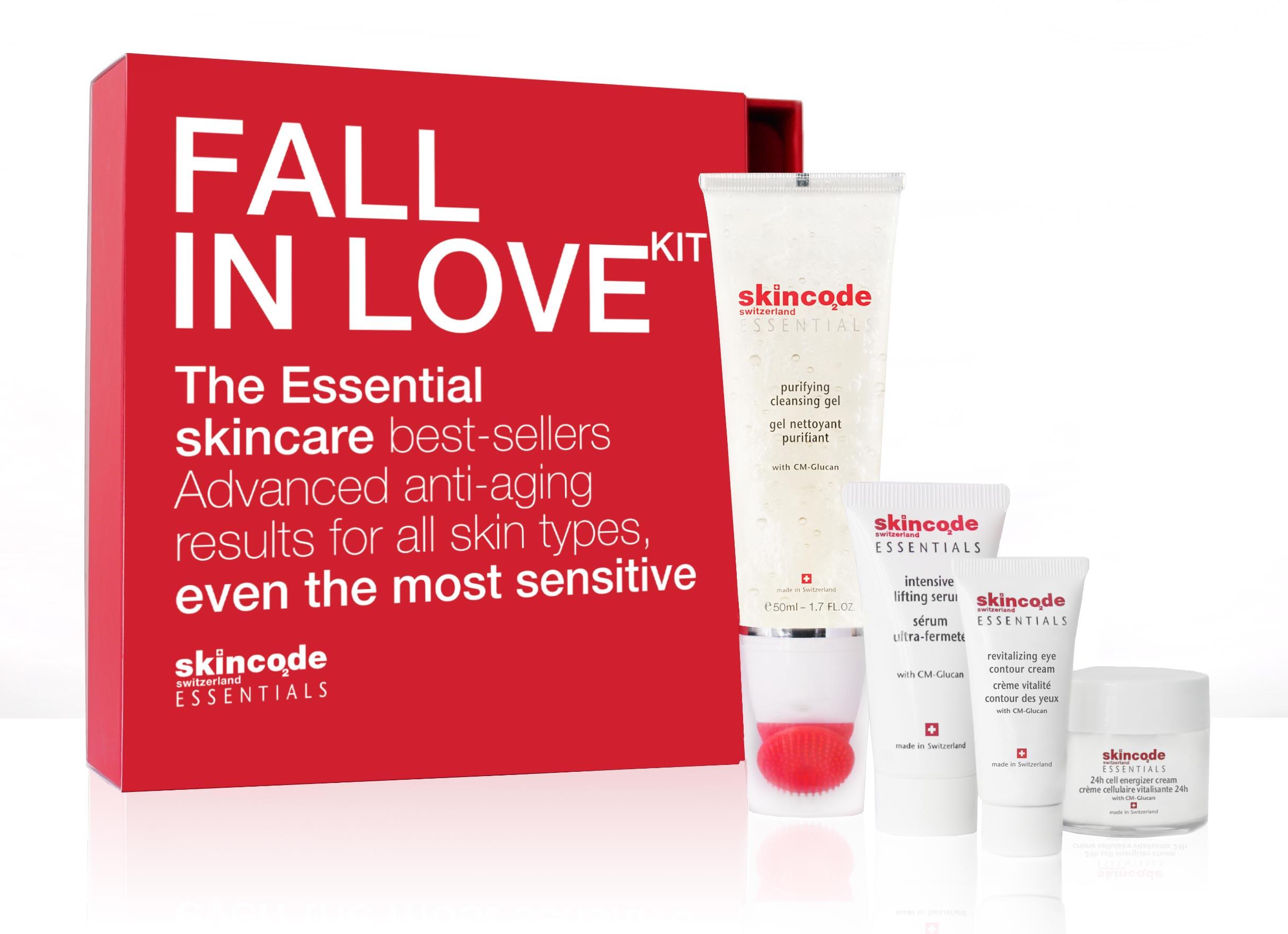 Skincode Fall In Love Kit - набор бестселлеров для путешествий